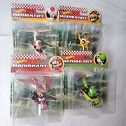 New Hot Wheels Mario Kart Lot Of 4 Die-cast Cars With Gliders Next Day Free Ship