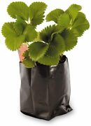 Grow Bags Black And White Poly Plastic 20/30 Gallons 1/5/6/10/15/25/50/100 Pack