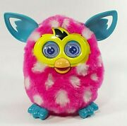 Furby Boom Hot Pink W Polka Dots 2012 Tested / Works Great Heart Eyes Love