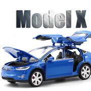 New 132 Tesla Model X Alloy Car Model Toy Vehicles Toy Cars Kids Toy For Childs