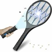 Bug Zapper Mosquito Killer Usb Rechargeable Electric Fly Swatter For Home Outdoo