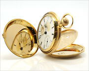 Elgin B.w. Raymond 18k Solid Gold 18s Pocket Watch - American History - Must See