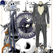 The Nightmare Before Christmas Jack Skellington Cosplay Costume Outfit Halloween