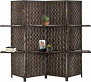 Room Divider Room Screen Divider Wooden Screen Folding Portable Partition Screen