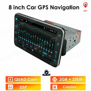 Android 10 Hd 8 Inch Single 1din Car Stereo Radio Player Wifi Gps Mirror Link Bt