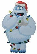 32-inch Rudolph The Red-nosed Reindeer Hammered Metal Bumble Christmas Decor