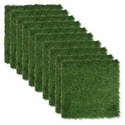 30cm Realistic Thick Artificial Grass Turf Indoor Outdoor Garden Lawn Landscape