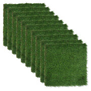 Realistic Thick Artificial Grass Turf Indoor Outdoor Garden Lawn Landscape