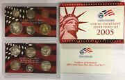 2005-s Us Mint Silver Proof Set In Ogp And Coa