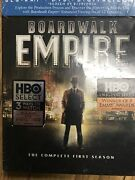New Boardwalk Empire Complete First Season One 1 Blu-ray Dvd Hbo Sealed