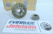 T14 Johnson Evinrude Omc 0435553 Gear Set Assembly Oem New Factory Boat Parts