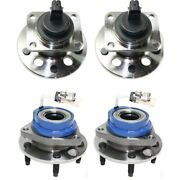 Set Of 4 Wheel Hubs Front And Rear Left-and-right For Olds Le Sabre De Ville Sedan