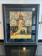 Certified Mike Schmidt Signed And Frame 16x20 Photo , 26 X 30 With Frame
