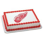 Detroit Red Wings Edible Images