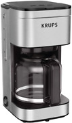Krups Simply Brew Family 10 Cup Drip Filter Coffee Maker With Stainless Steel Fi