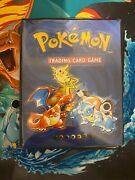 1999 Wizards Of The Coast Pokemon Trading Card Game Collectors Album Used