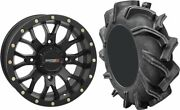 Mounted Wheel And Tire Kit Wheel 18x7 4+3 4/156 Tire 33x9-18 6 Ply