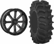Mounted Wheel And Tire Kit Wheel 20x6.5 4+3 4/156 Tire 35x9-20 8 Ply