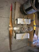 Mcculloch 4318a Vintage Drone Engine W/ Prop