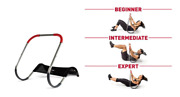 New Ab Fitness Crunch Abdominal Exercise Workout Machine Glider Roller Pushup