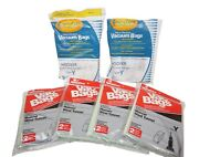 Lot 19 Pcs New Hoover Type Y Bags + 1 Used Filter - Vacuum Cleaner Part Only