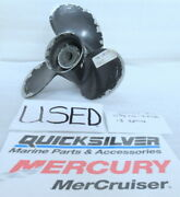 Mercury Quicksilver 48-816706a40 Propeller 10 3/8x14 Oem Used Factory Boat Parts