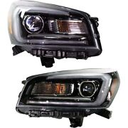 Set Of 2 Headlights Lamps Left-and-right 23358995, 23358994 Lh And Rh For Gmc Pair