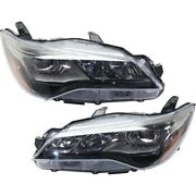 Pair Headlights Lamps Set Of 2 Left-and-right 8111006c80 8115006c80 Lh And Rh