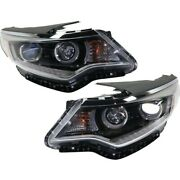 Headlights Lamps Set Of 2 Left-and-right 92102d5080, 92101d5080 Lh And Rh Pair