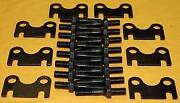 Sbc Small Block Chevy Push Rod Guide Plates And 3/8 Rocker Arm Studs Stud