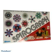 Spirograph 28 Pieces, 21 Wheels, Rack, Pens, Guide, Putty, Storage Tray