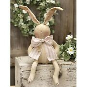 Dag The Bunny Rabbit Fabric Doll Easter Spring Country Farmhouse Honey And Me