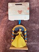 Disney Store Belle Fairytale Moments Sketchbook Ornament Beauty And Beast Nwt