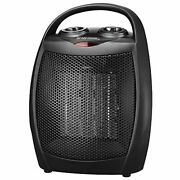 Compact Space Heater For Bedroom Home Office Room Inside Indoor Use Under Desk A