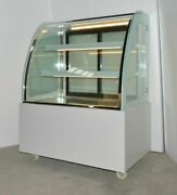 Top-grade 220v Commercial Floor Type Refrigerated Cake Bakery Display Showcase