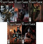 The Witcher 5 Issue Set 1 2 3 4 5 1st Print Comic Lot Dark Horse Cdproject