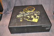 New 2017-2018 Golden State Warriors Back To Back Champions Bobblehead Box Set