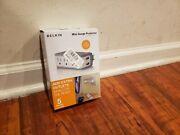 New Open Box Belkin Mini Surge Protector With Dual Usb Charger
