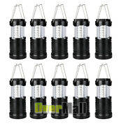 10x Collapsible Led Lanterns Tac Light Emergency Outdoor Hiking Camping Lamps