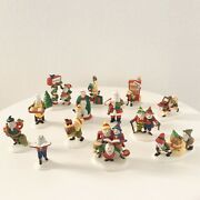 Department 56 Hv Series North Pole Accessory Lot 13 Figurines