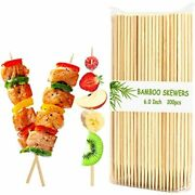 Natural Bamboo Skewers/barbecue Bbq, Kabob, Fruit, Appetiser Garden Andamp Outdoor