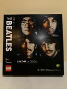 Lego The Beatles Collectible Creative Canvas Wall Art Kit 31198 Factory Sealed