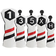 Golf Head Covers Woods Headcovers Classic Stripes For Taylormade Adams 1 3 5 X H
