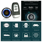 Car Alarm Security Systems Remote Central Door Lock Keyless One-button Start