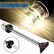 13 Led White Marine Boat Yacht Navigation Stern Lamp Anchor Pole Light