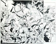 Mark Bagley/james Robinson - Justice League Of America 43 Double Page 2010