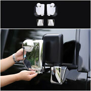 For 2007-2014 Toyota Fj Cruiser Chrome Abs Rear View Side Door Mirror Cover 6pcs