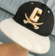 Calvary Big C Crossed Swords Small Fitted The Game Baseball Cap Hat