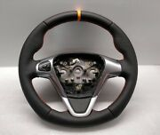2016 Ford Transit Courier Steering Wheel Flat Sport New Leather Orange