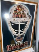 1996-97 Season Phoenix Coyotes Team Signed Full Size Poster Real Autos